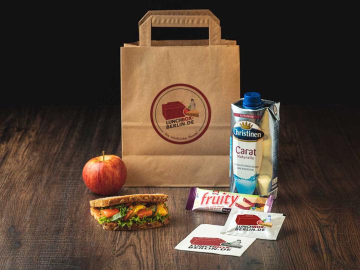 Lunchpaket Vegan